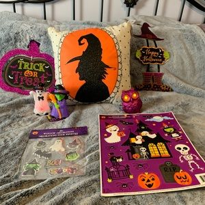 Halloween Throw Pillow & Home Decor All n one kit